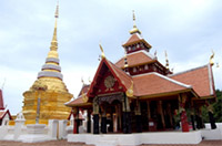 Pong Sanook Temple in Lampang : JC Tour