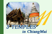 3 Temples in ChiangMai